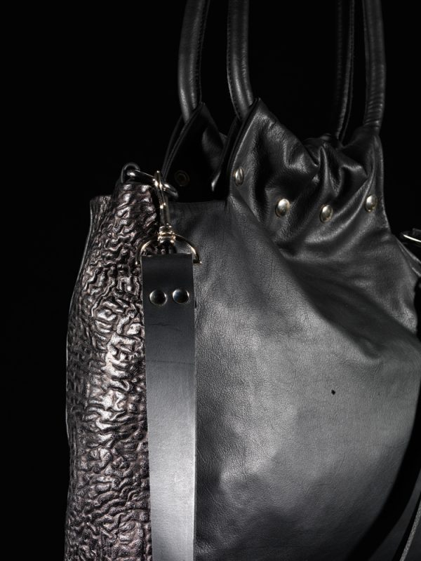 Multi Bag Black On Black Close Up