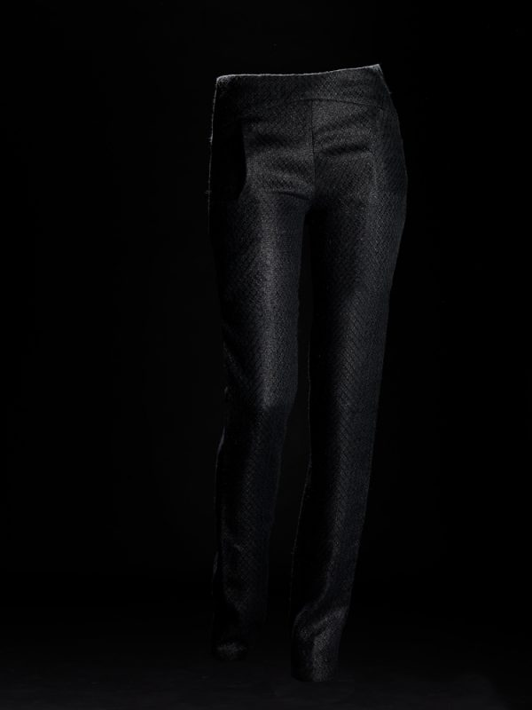 Pepita Black Trousers Front