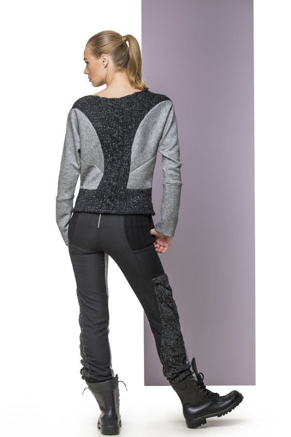 Sweater and Trousers LG Back