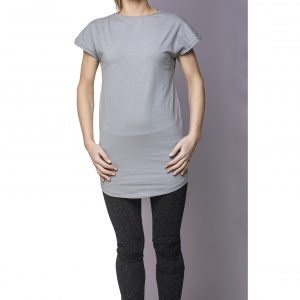 Dress Cotton Light Gray Front