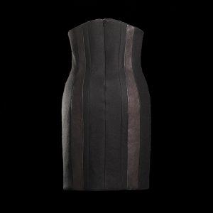 High Waist Skirt Felt Front